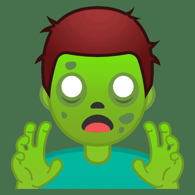 Zombie clipart transparent background 5