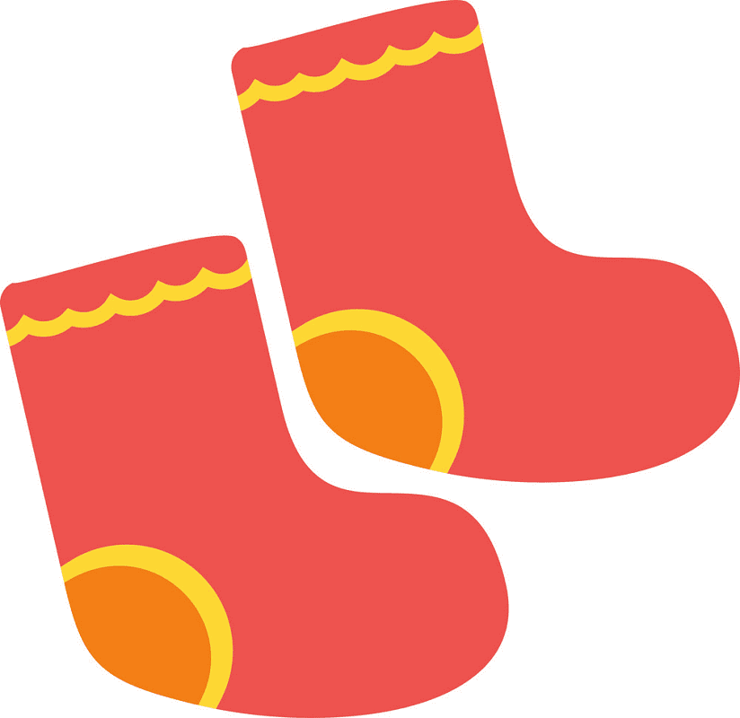 Baby Socks clipart