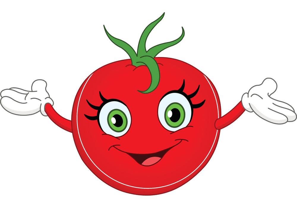 Cartoon Tomato clipart