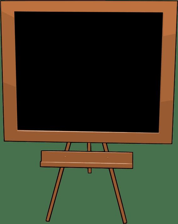 Chalkboard clipart free 2