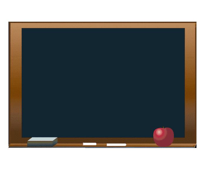 Chalkboard clipart free 4