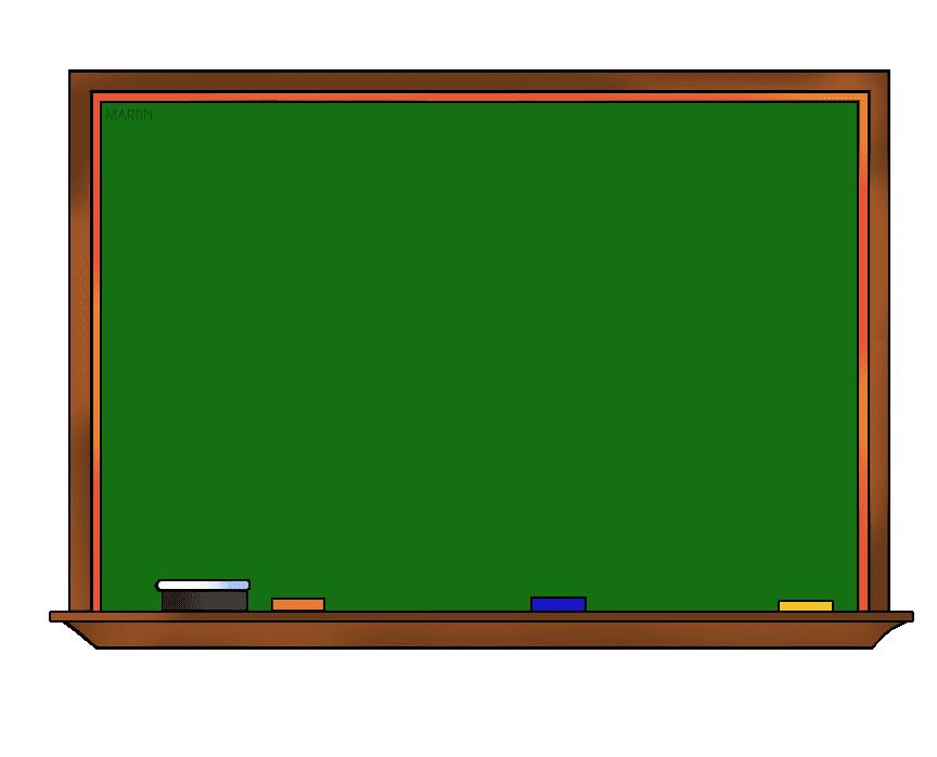 Chalkboard clipart free 7