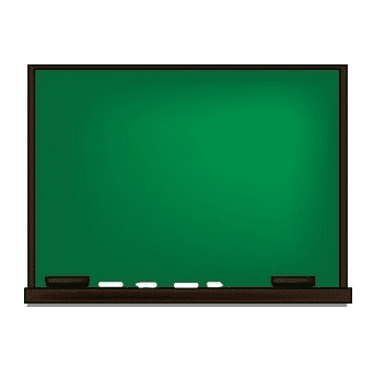 Chalkboard clipart free for kid