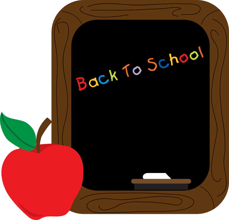 Chalkboard clipart free picture