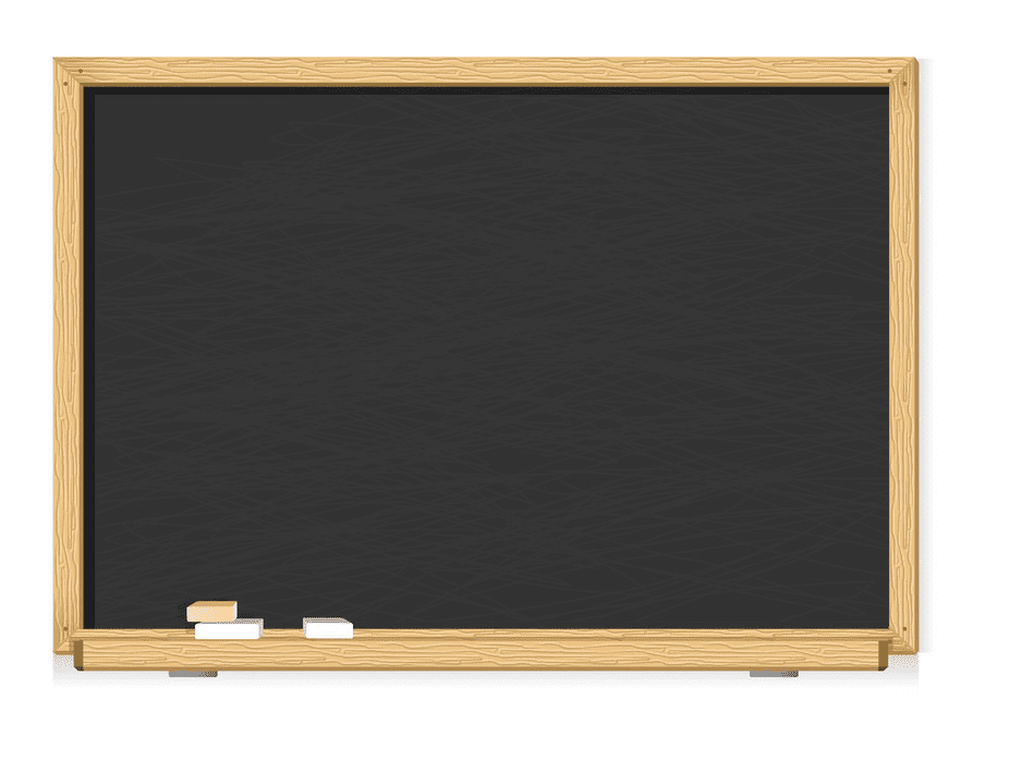 Chalkboard clipart free