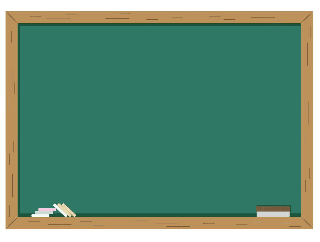 Chalkboard clipart image