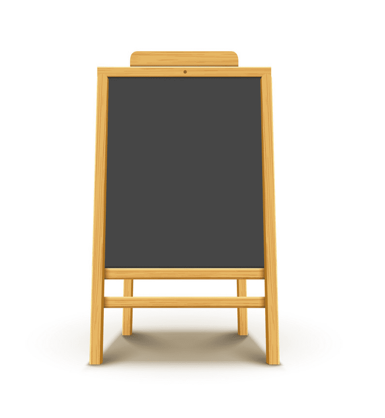 Chalkboard clipart picture