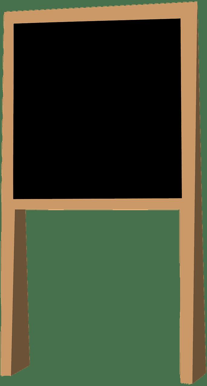 Chalkboard clipart transparent 10