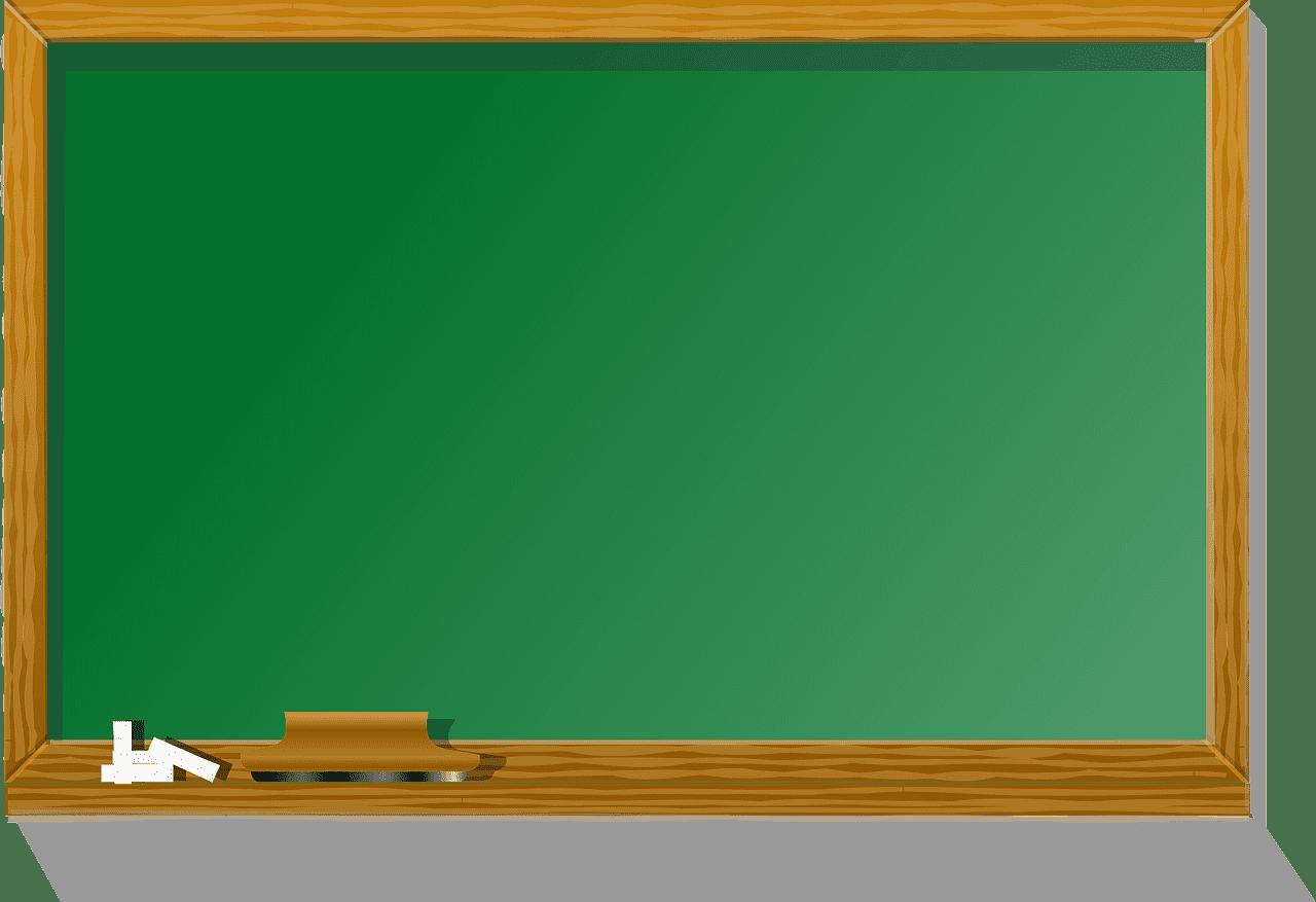 Chalkboard clipart transparent 15