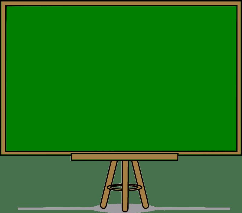 Chalkboard clipart transparent 3