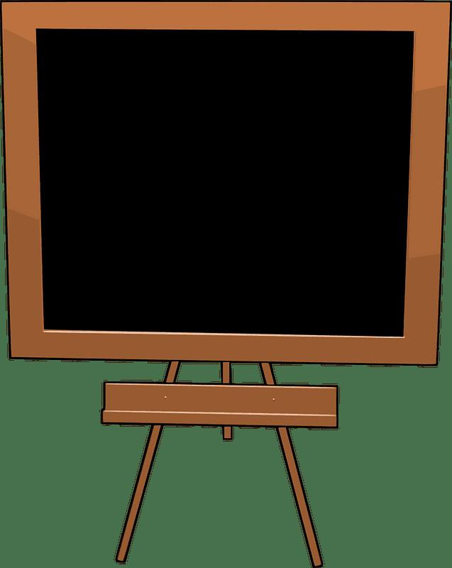Chalkboard clipart transparent 4