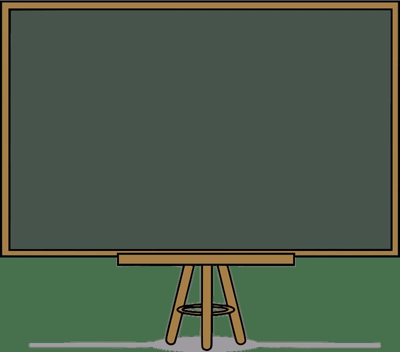 Chalkboard clipart transparent for kids