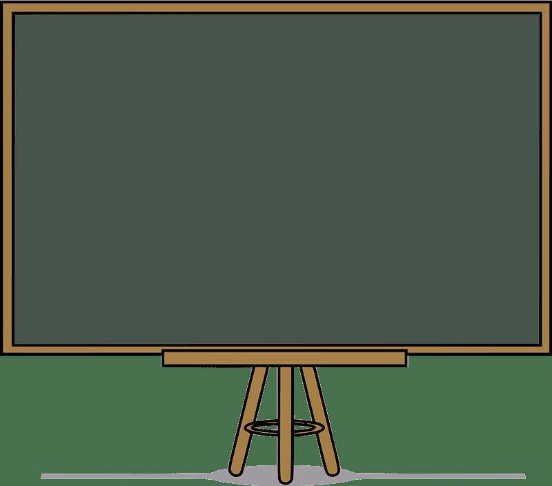 Chalkboard clipart transparent free