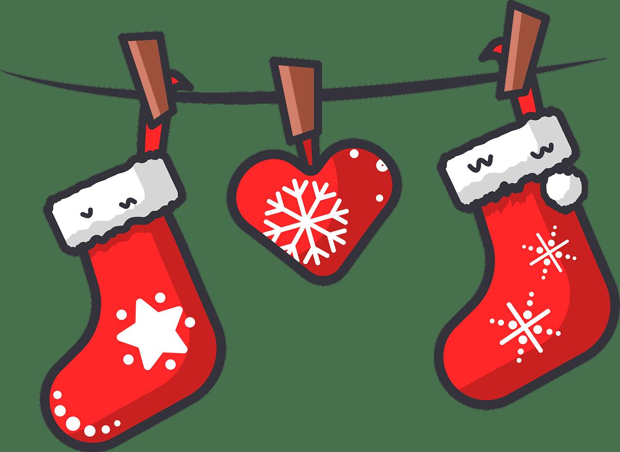 Christmas Socks clipart transparent png