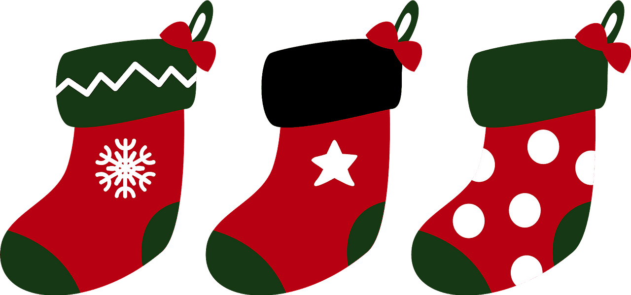 Christmas Socks clipart transparent