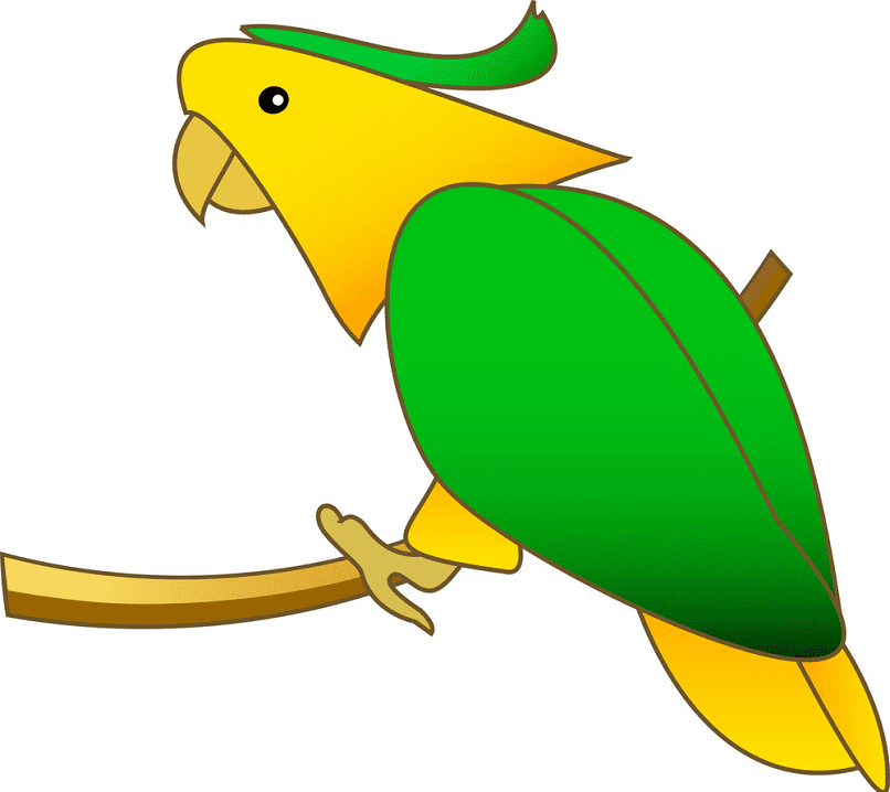 Clipart Parrot for free