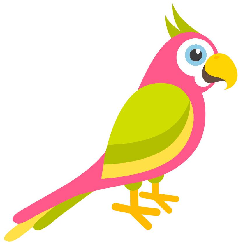 Clipart Parrot image