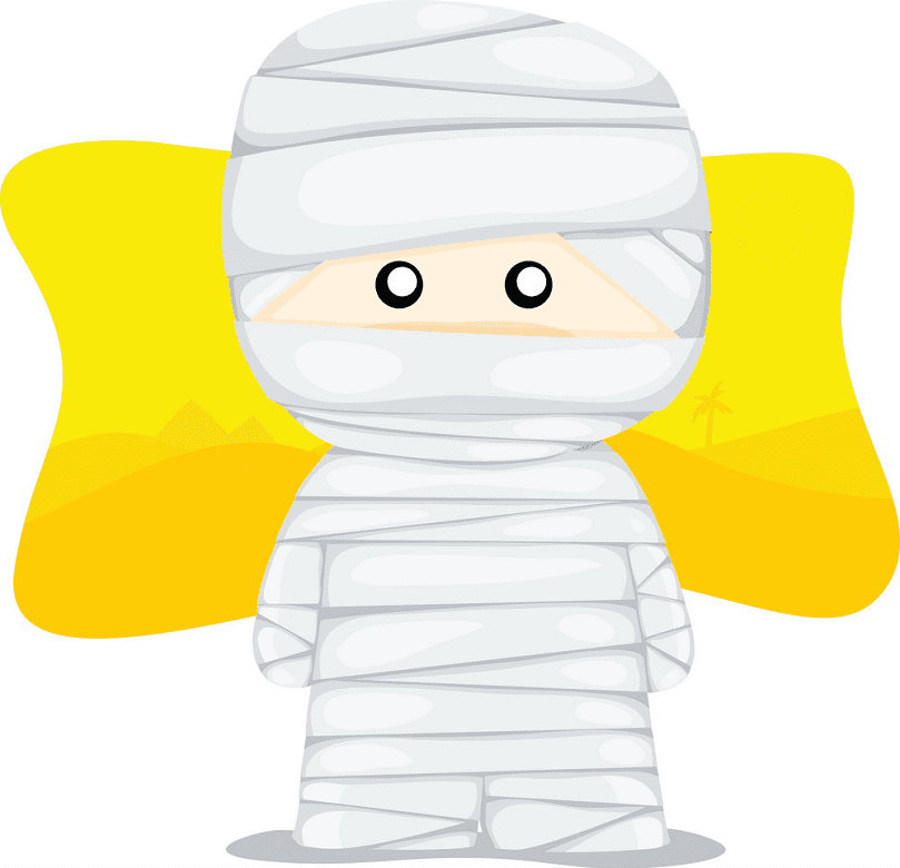 Cute Mummy clipart for free