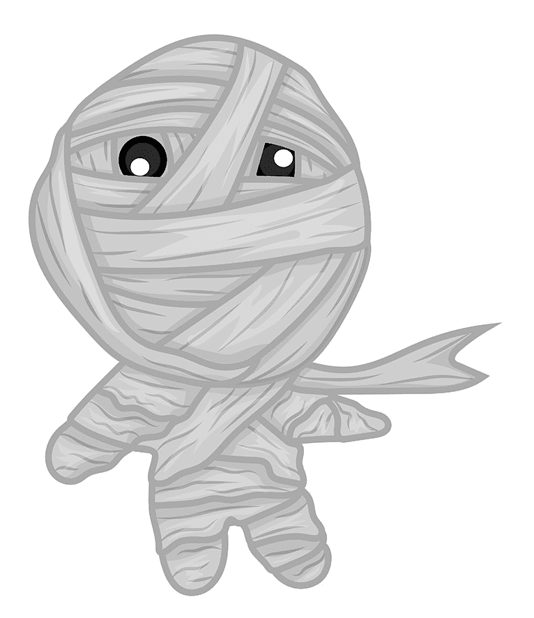 Cute Mummy clipart png download