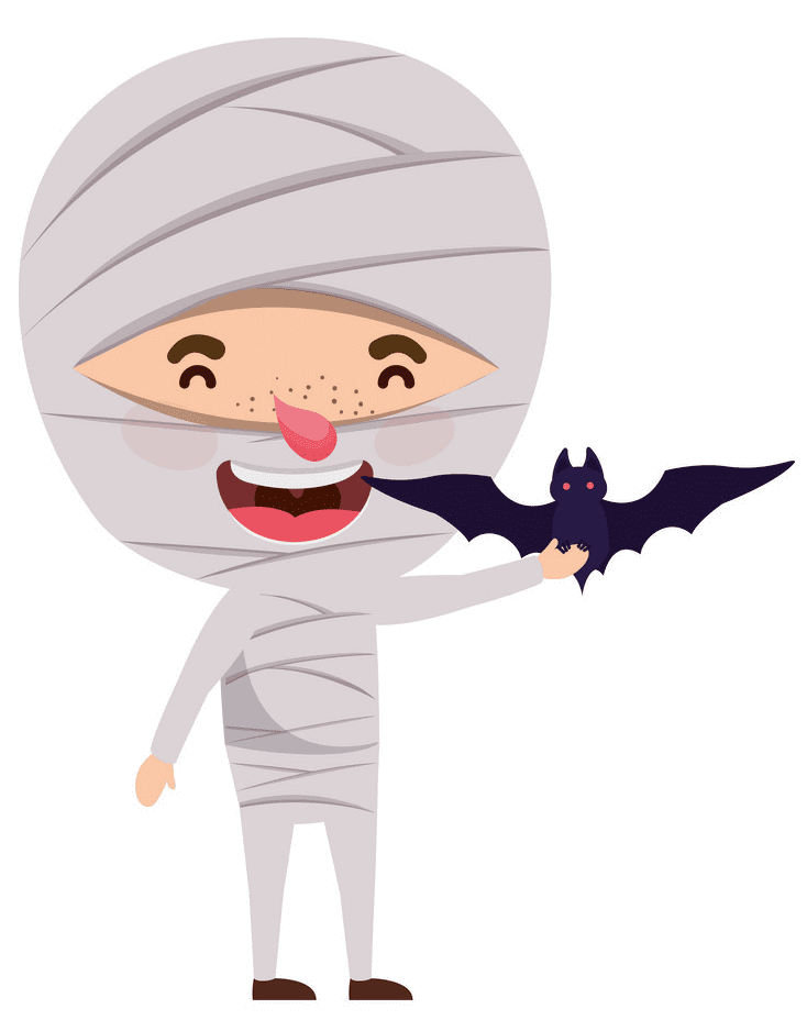 Cute Mummy clipart png free