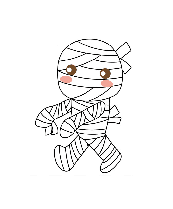 Cute Mummy clipart png image