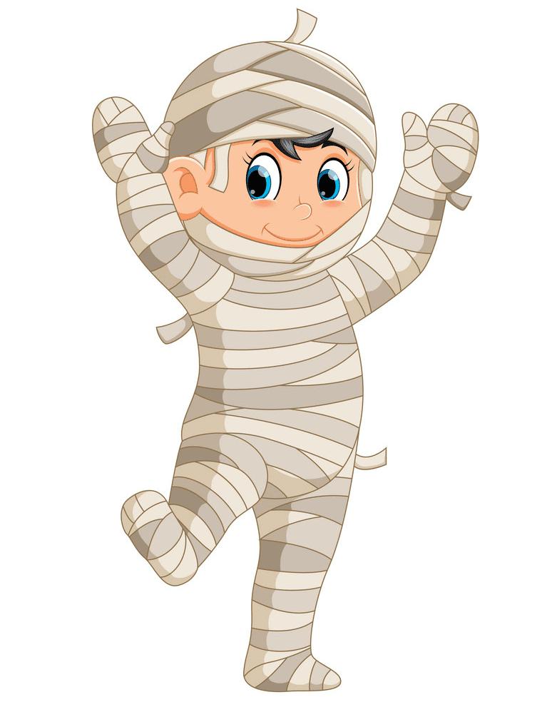 Cute Mummy clipart png