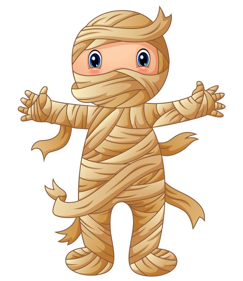 Cute Mummy clipart
