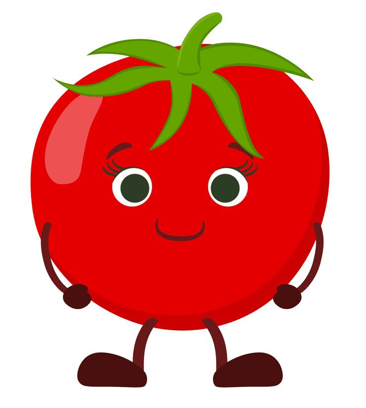 Cute Tomato clipart download