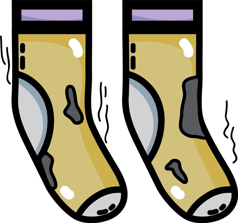 Dirty Socks clipart free