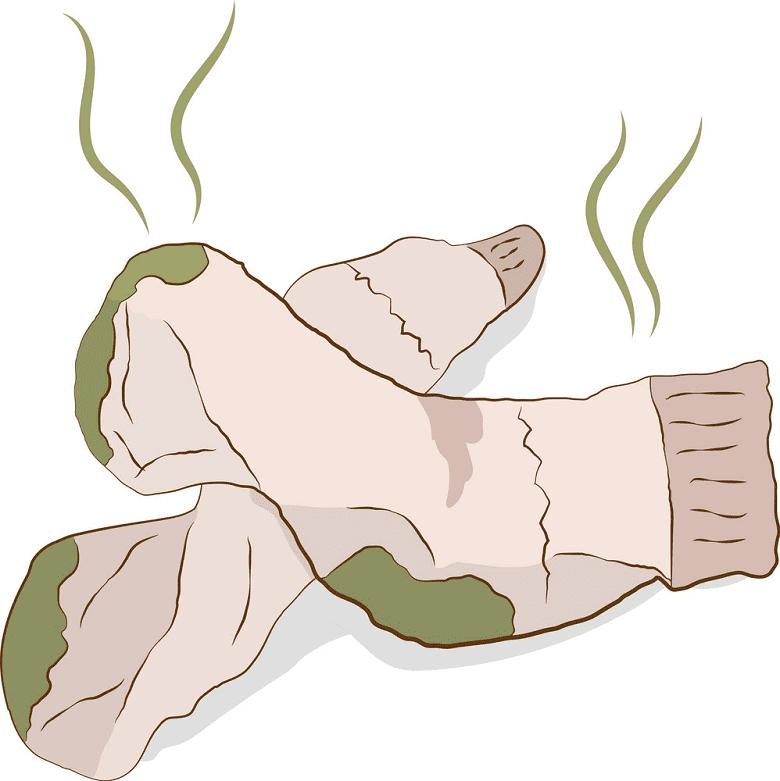Dirty Socks clipart