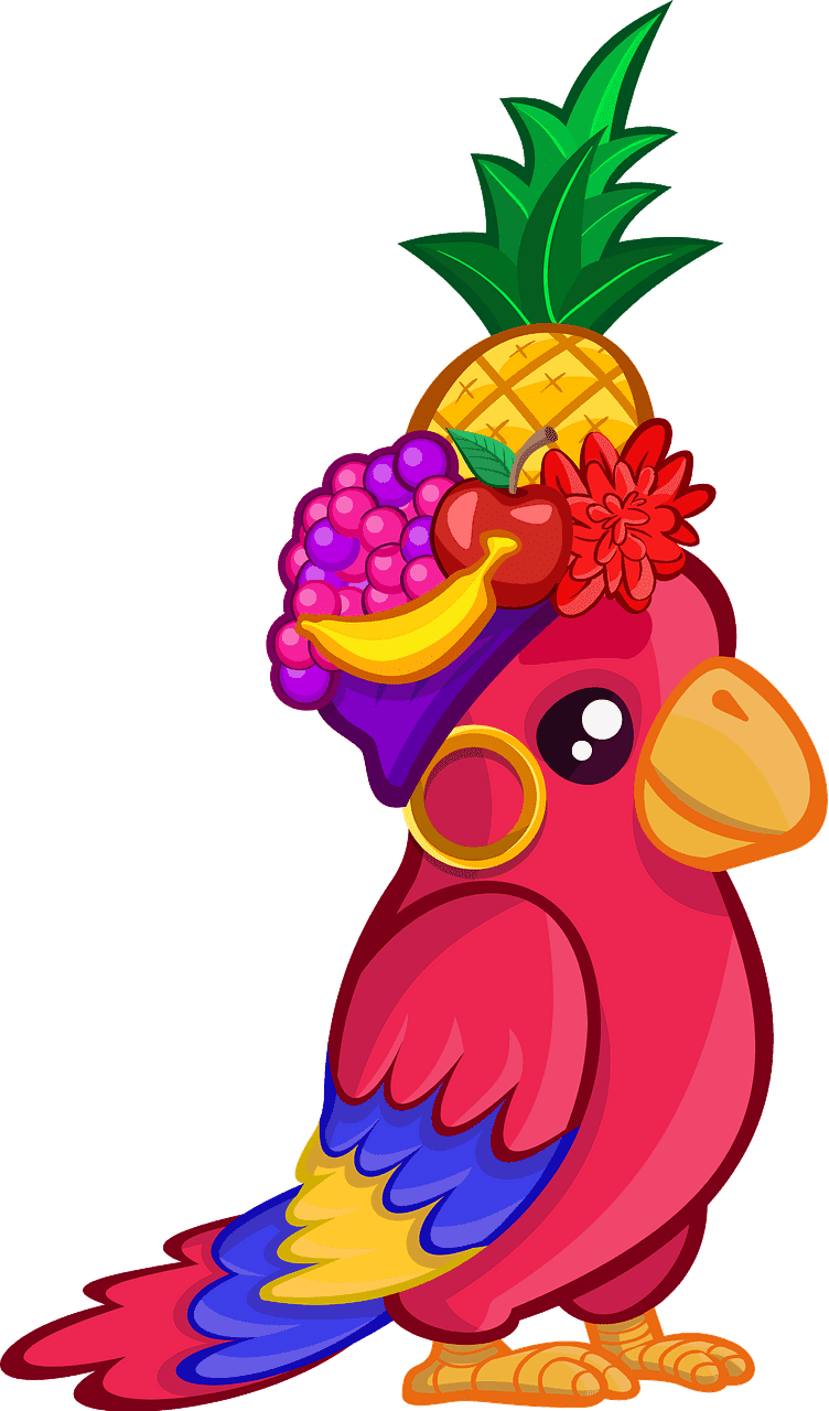 Download Parrot clipart transparent for free