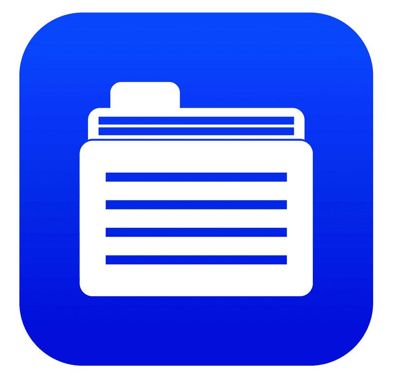 Folder clipart 3