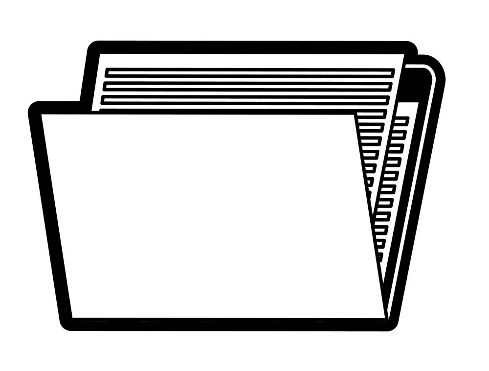 Folder clipart 4