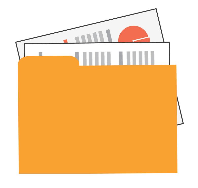 Folder clipart 5