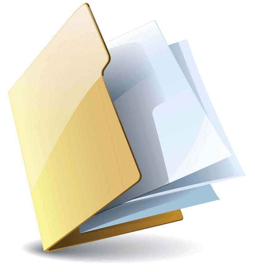 Folder clipart 6