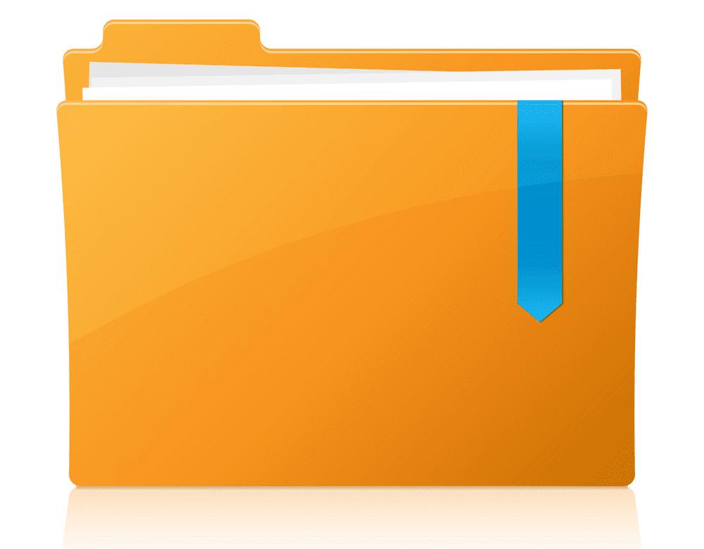 Folder clipart 7