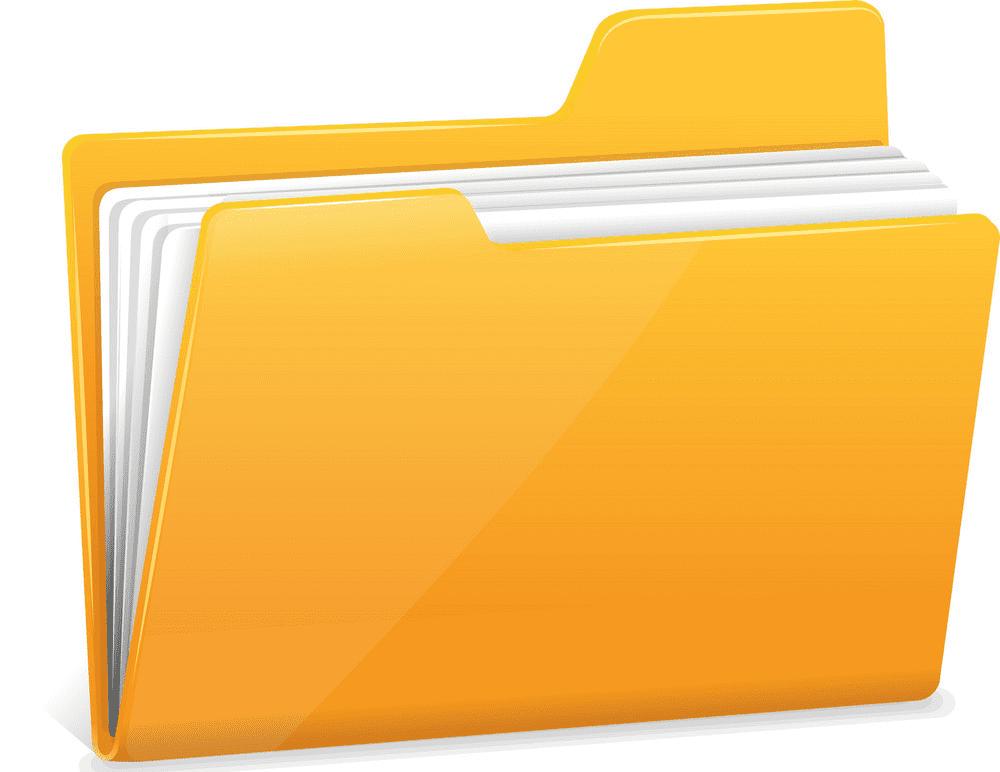 Folder clipart 8