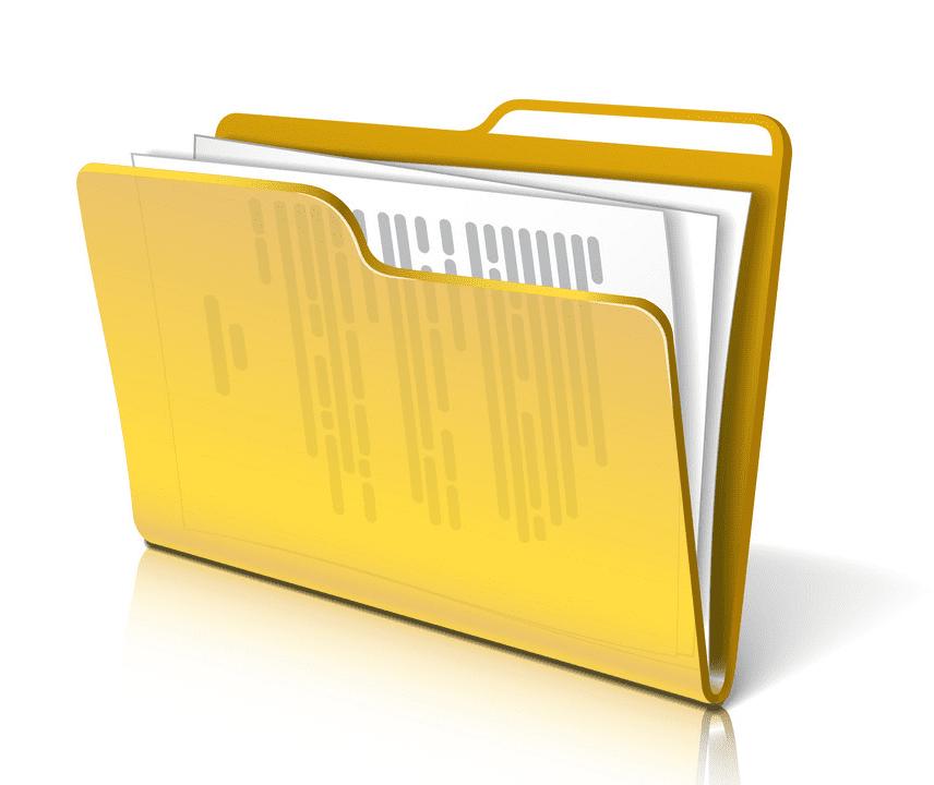 Folder clipart 9