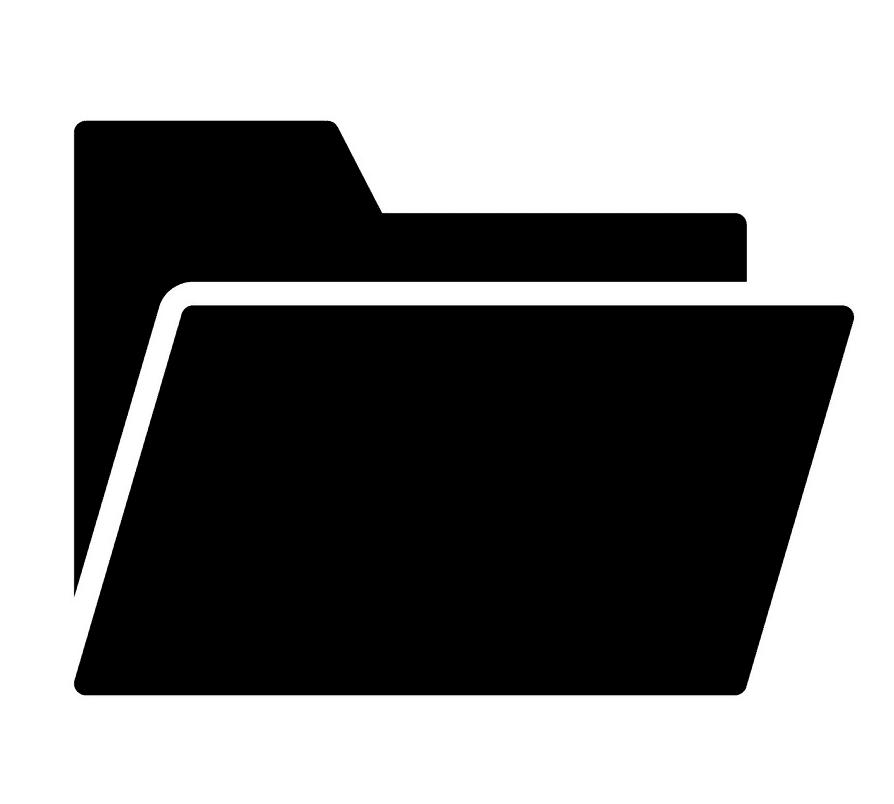 Folder clipart for kids
