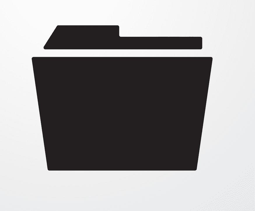 Folder clipart free for kids