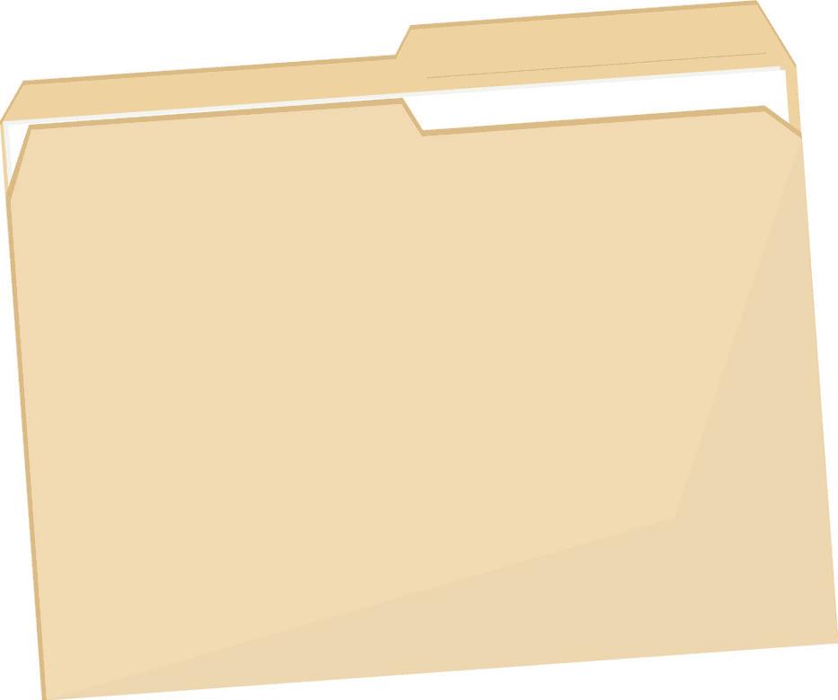Folder clipart image