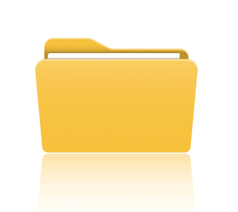 Folder clipart png for kid