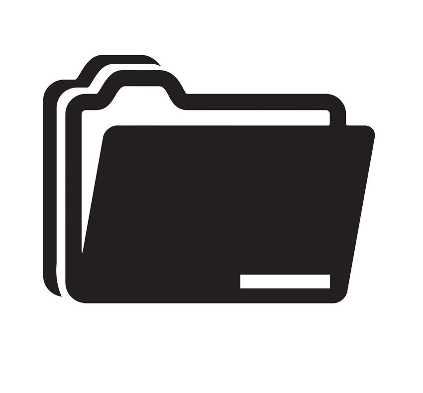 Folder clipart png for kids