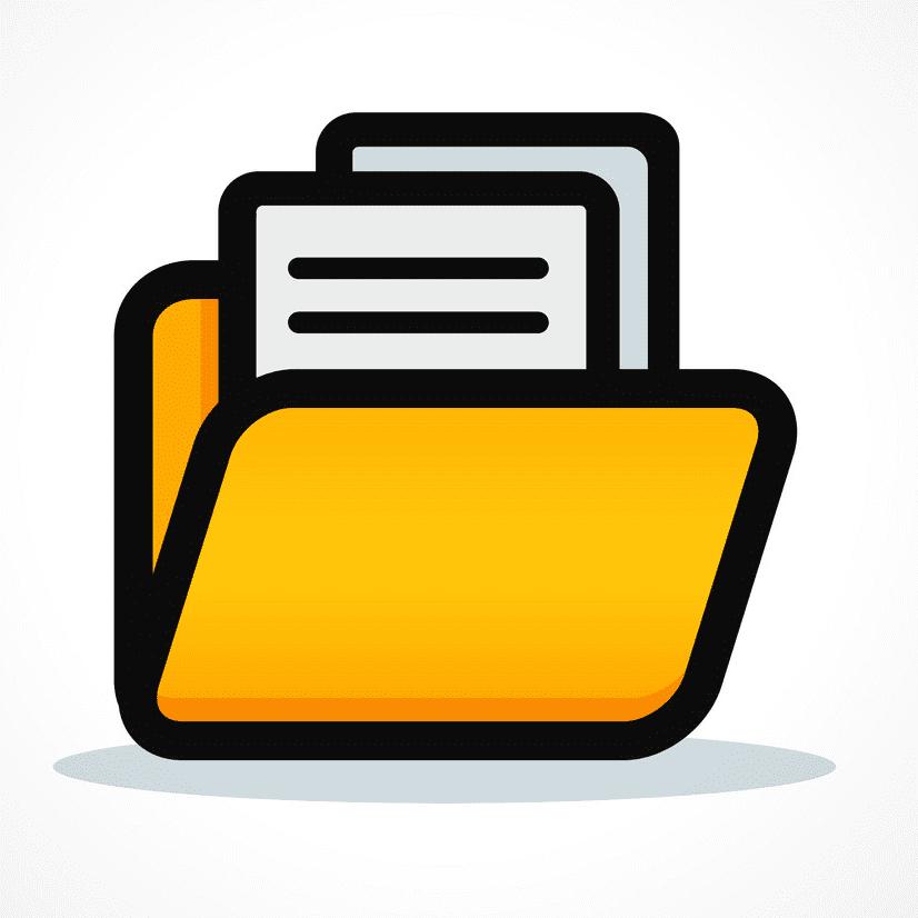 Folder Clipart