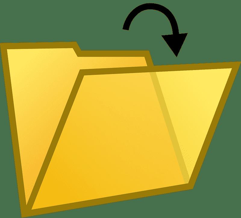 Folder clipart transparent 1
