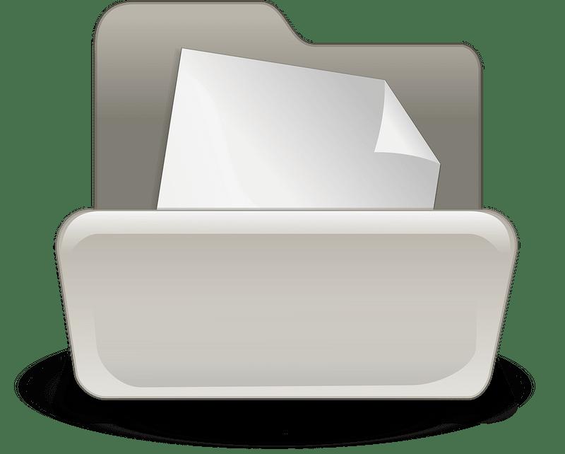 Folder clipart transparent 11