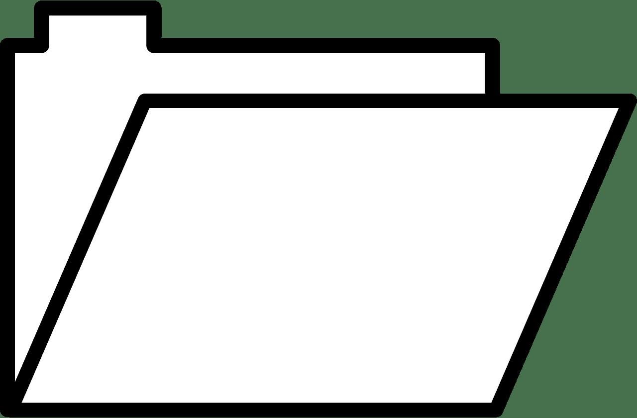 Folder clipart transparent 12