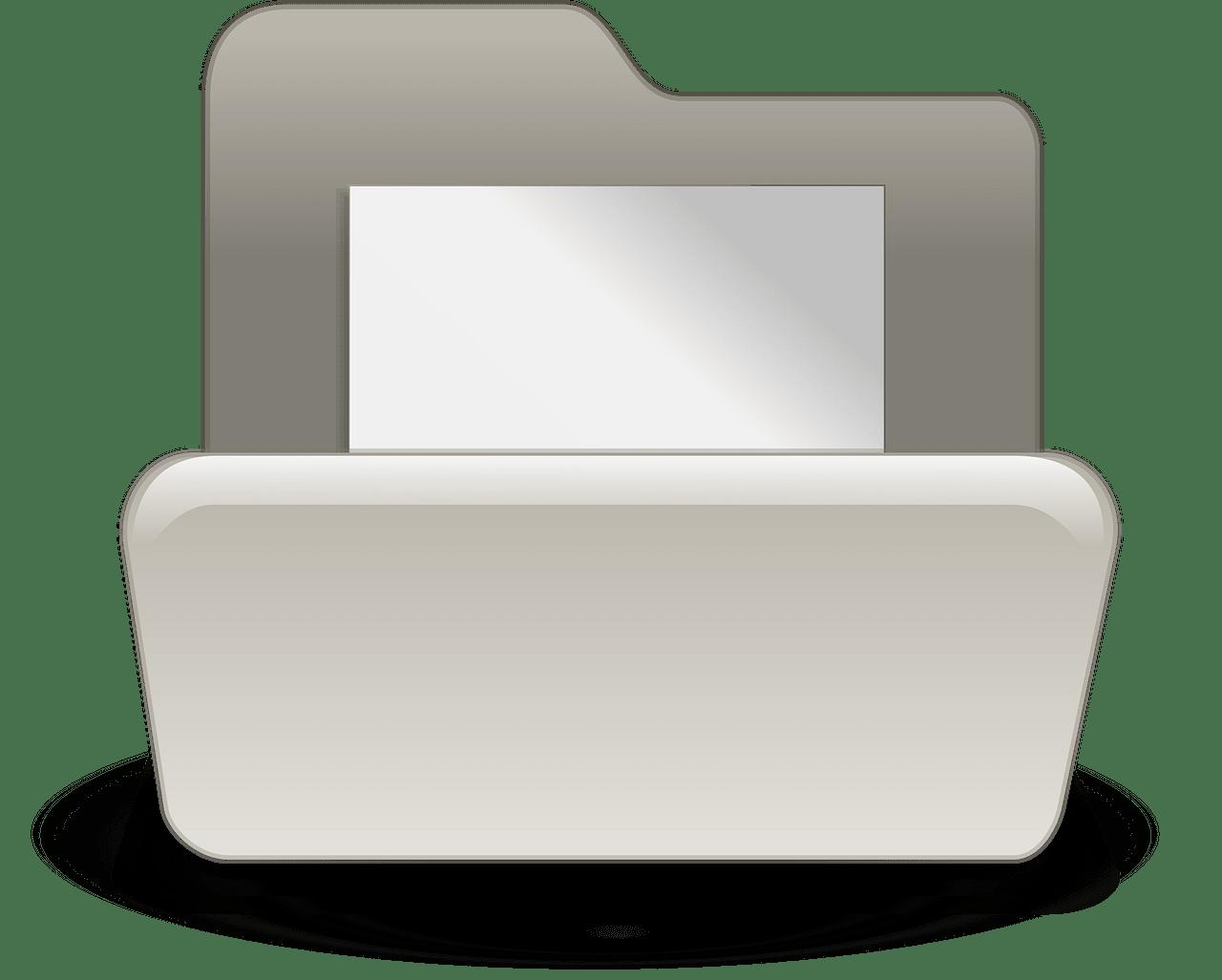 Folder clipart transparent 4