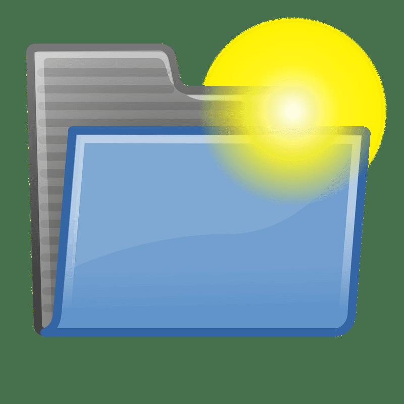 Folder clipart transparent 5