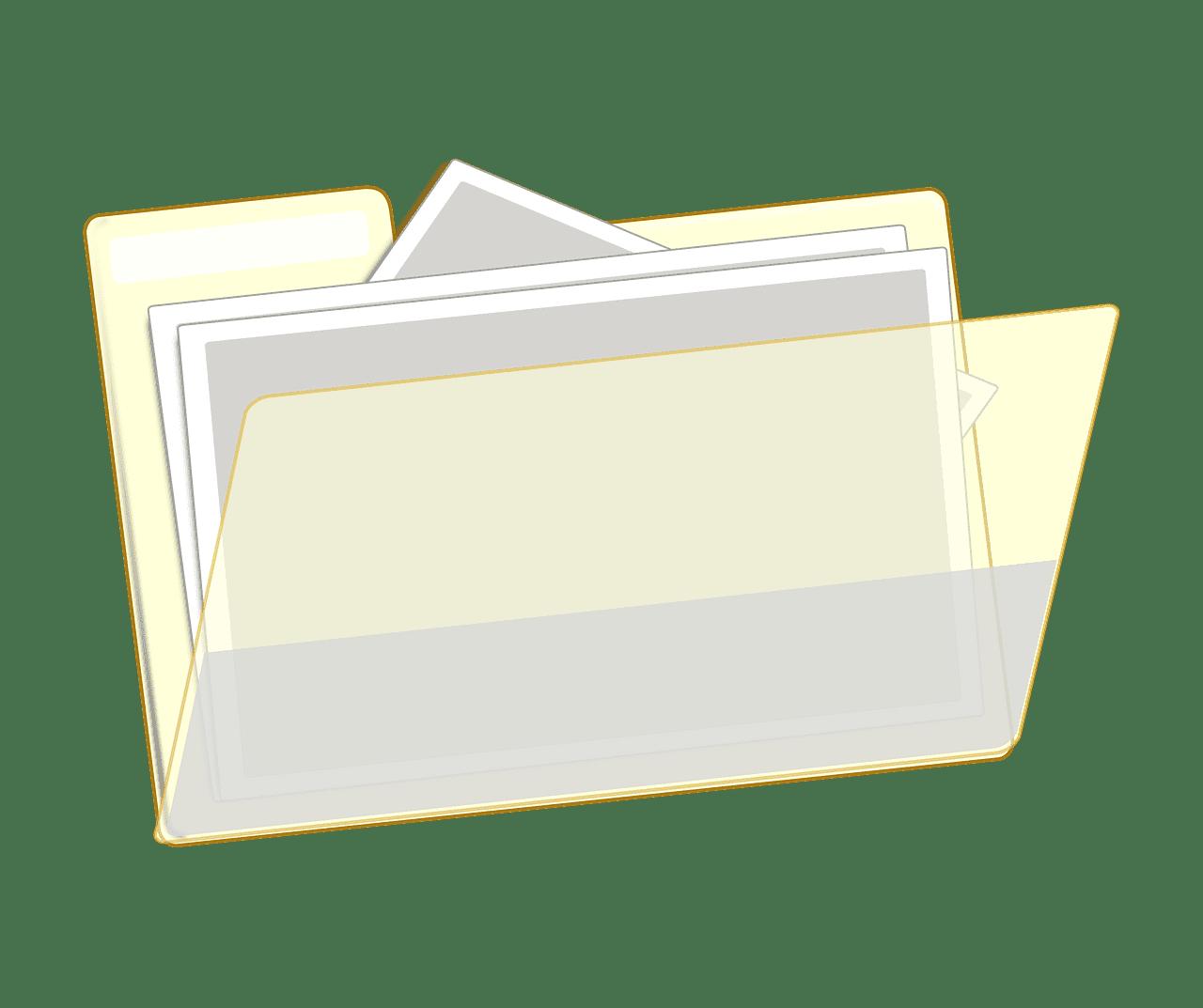 Folder clipart transparent 7
